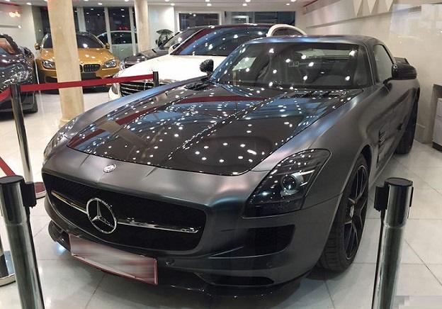 خودروهای گران قیمت در تهران+مرسدس بنز 5 میلیاردی در تهران +عکس