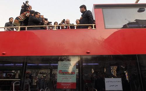 اتوبوس-دو طبقه جدید