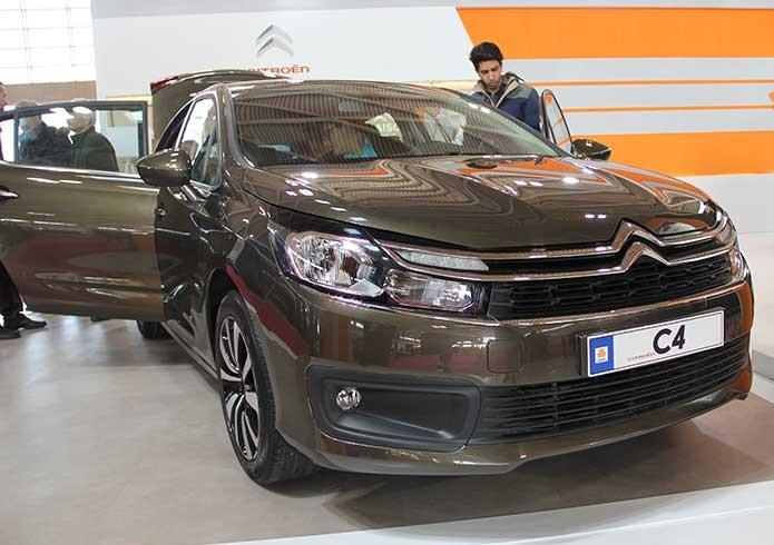 سیتروئن C4 ، مدل ارائه شده در نمایشگاه تهران