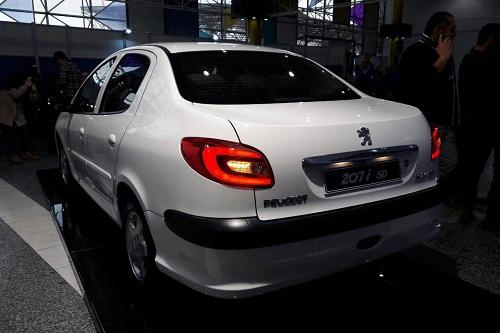 خودروی جدید پژو 207 صندوق دار