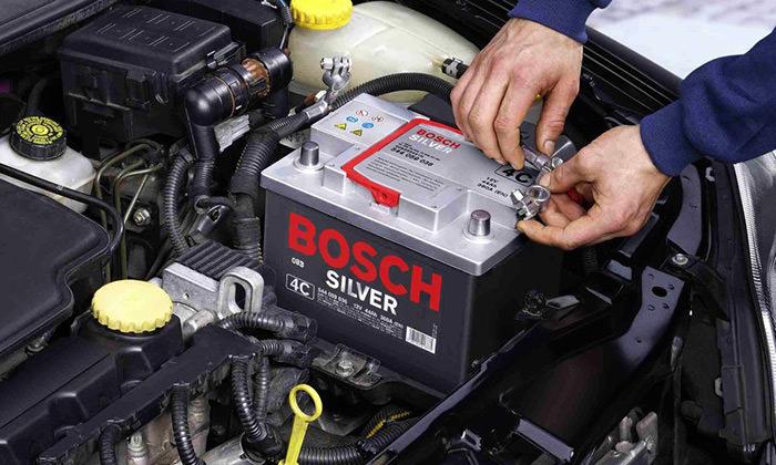 تعویض باتری خودرو