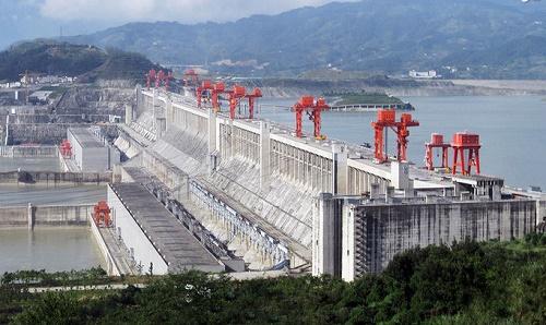تصاویری از بزرگترین سد آبی جهان