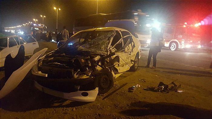 عکس تصادف اخبار قم اخبار تصادف اتوبان قم – تهران