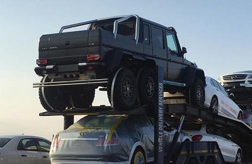 مشخصات G63 AMG 6×6 قیمت G63 AMG 6×6 خودرو میلیاردی خودرو گرانقیمت G63 AMG 6×6