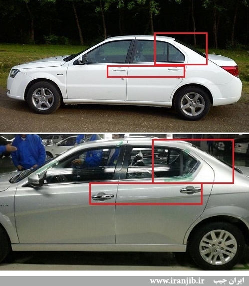 تصاویر دنا پلاس خودرو دنا با تغییراتی جدید بزودی به بازار میآید / تصاویر