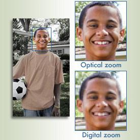 زوم اپتیکال و زوم دیجیتال