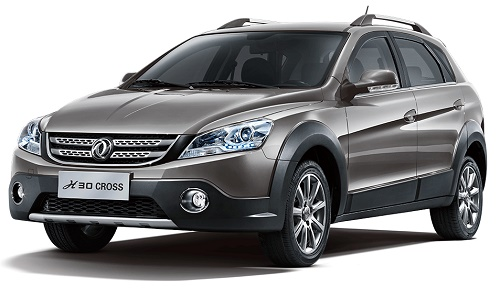 معرفی و مشخصات کامل خودروی دانگ فنگ H30 کراس محصول شرکت ایران خودرو