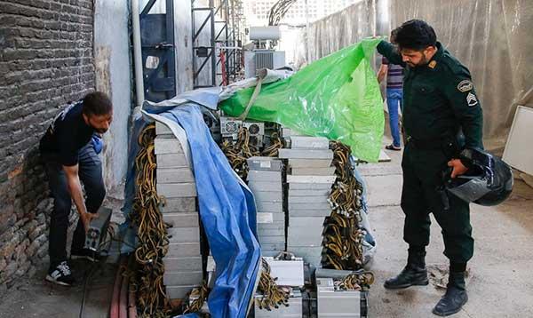 بزرگترین مزرعه رمز ارز در تهران کشف شد+عکس